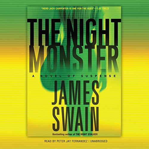 The Night Monster audiobook cover art