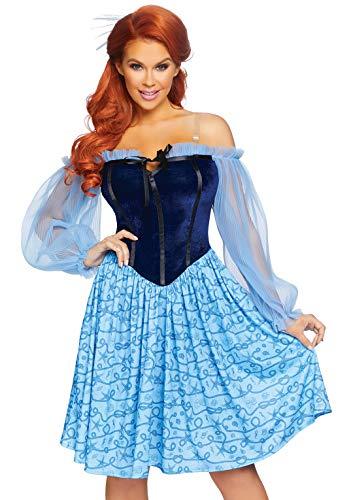 Leg Avenue Women's 3 Pc Peasant Mermaid Costume,...