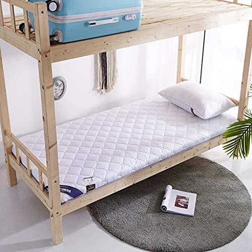Colchones Colchón plegable de tatami, dormitorio del estudiante enrollar el suelo del plato del plato del plato, colchón de camping de la espuma de la memoria de la pista de dormir portátil, tapete de