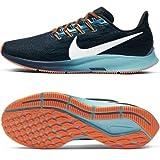 Nike Air Zoom Pegasus 36 Men's Running Shoe Black/MTLC Summit WHT-Midnight Turq Size 11.5