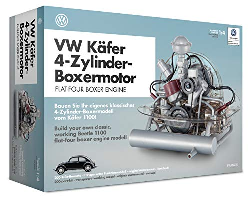 Franzis VW Flat-Four Engine Model Kit