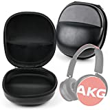 DURAGADGET Hard Black EVA Protective Headphone Storage Case