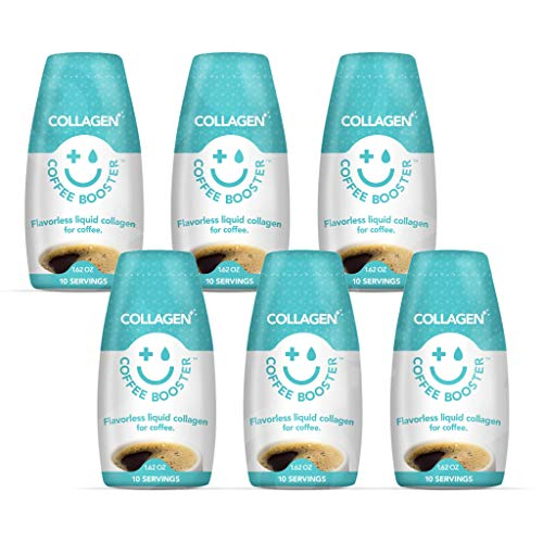 Coffee Booster Refuerzo de Café, Colágeno 12 x 50 ml 600 g