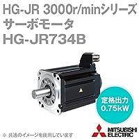三菱電機 HG-JR734B サーボモータ HG-JR 3000r/minシリーズ 400Vクラス 電磁ブレーキ付 (低慣性・中容量) (定格出力容量 0.75kW) NN