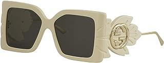 Gucci Women's Sunglasses Square GG0535S Ivory