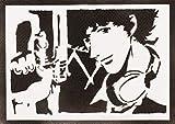 Cowboy Bebop Poster Spike Spiegel Plakat Handmade Graffiti