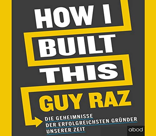 How I Built This (German edition) cover art
