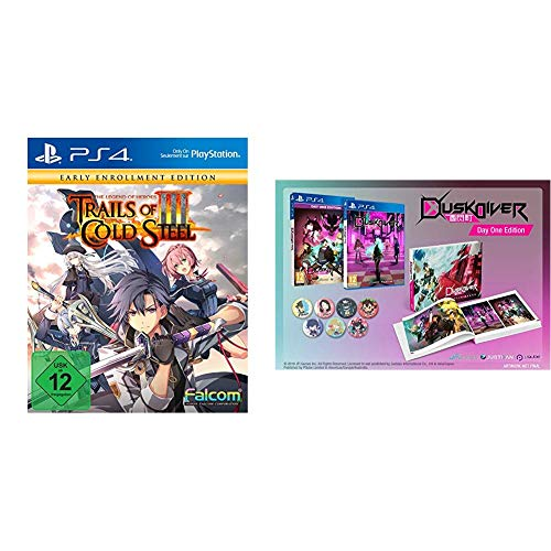 The Legend of Heroes: Trails of Cold Steel III Early Enrollment Edition (PS4) & PS4 Dusk Diver -- Day One Edition (PEGI) [