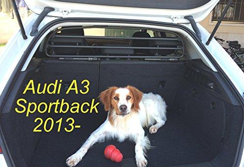 ERGOTECH Trennnetz Trenngitter Hundenetz Hundegitter RDA6HBG-XXS für Audi A3 Sportback ab BJ 2013