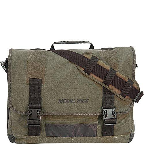 Mobile Edge 17.3 Eco-Friendly Canvas Messenger Bag
