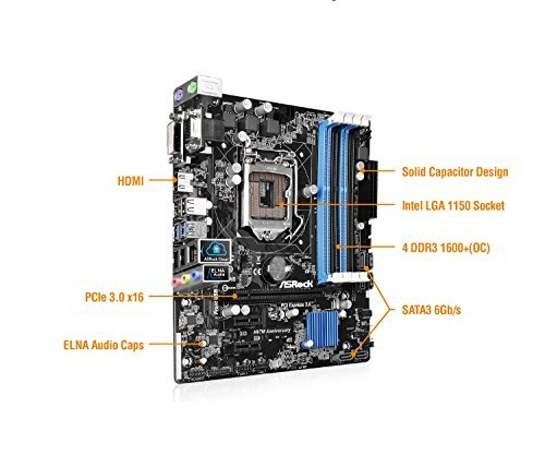 Build My PC, PC Builder, ASRock H97M ANNIVERSARY
