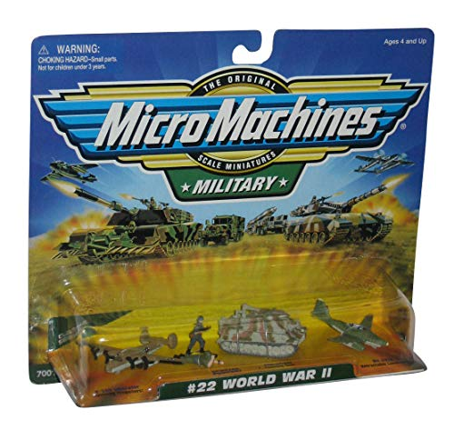 Micro Machines Military World War II #22 Collection