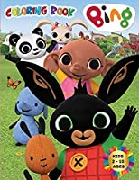 BING Coloring Book Kids 2-10 Ages: All happy with this coloring book of Bing, the characters much loved by children.