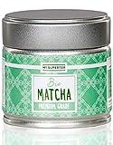 Bio Matcha Pulver - Premium Grade I Mild nussiger Bio Matcha Tee aus Japan I 30 Gramm Premium Bio Matcha by MY SUPERTEA