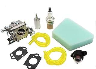 KIPA Carburetor Maintence Kit for Poulan PP210 2075C 2050WT 1950LE 1975LE 2055LE 2375LE 2150LE PPB1838LE WT-891 W-20 WT-89 WT-324 WT-391 WT-600 WT-624 WT-637 WT-662 C1U-W8 C1U-W14 545081885 530069703