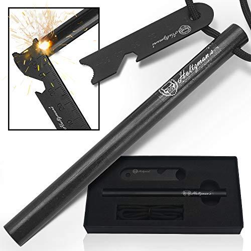 Holtzman's Ferro Rod | Fire Starter Heavy Duty 6-Inch x 1/2