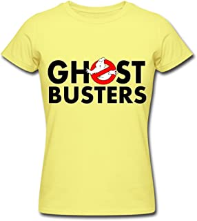 Female A Ghost Busters logo 2016 T shirts