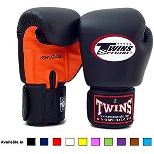 Customer reviews Twins Special Muay Thai Boxing Gloves BGVLA Air Flow - 12 Oz. orange/black:Cartoonhd