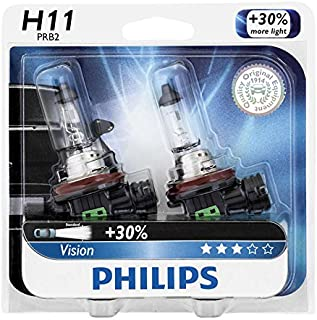 Philips H11 55W 12V 12362PRB2 Vision Headlight Automotive Car lamp - 2 bulbs