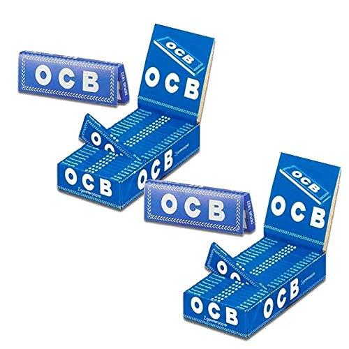 2x OCB blau aktuell kurzes Zigarettenpapier (2x25x50)