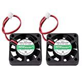 DC Brushless Cooling Fan, UCEC 4010 12V DC Axial Fan 40x40x10MM 2Pin for Computer Case, 3D Printer Extruder Humidifier and Other Small Appliances - 2 Pack