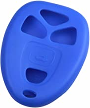 KeyGuardz Blue Rubber Keyless Entry Remote Key Fob Skin Cover Protector