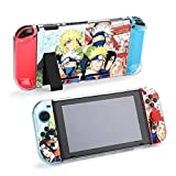 Narut-o Protective Case Compatible with Nintendo Switch PC Cover with Shock-Absorption and Anti-Scratch Design Anime Game Case