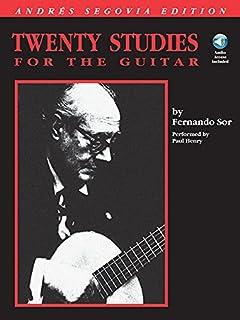 Andres Segovia - 20 Studies for Guitar ( Sor )