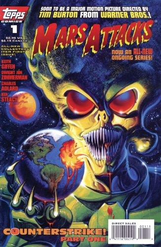 MARS ATTACKS NO. 1 TOPPS COMICS MINT! (MARS ATTACKS, VOLUME...