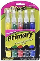 Puffy Paint Pen Set 5/Pkg-Primary (並行輸入品)