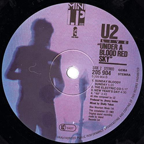 "U2: Live ""Under A Blood Red Sky"" [Vinyl] - 4"