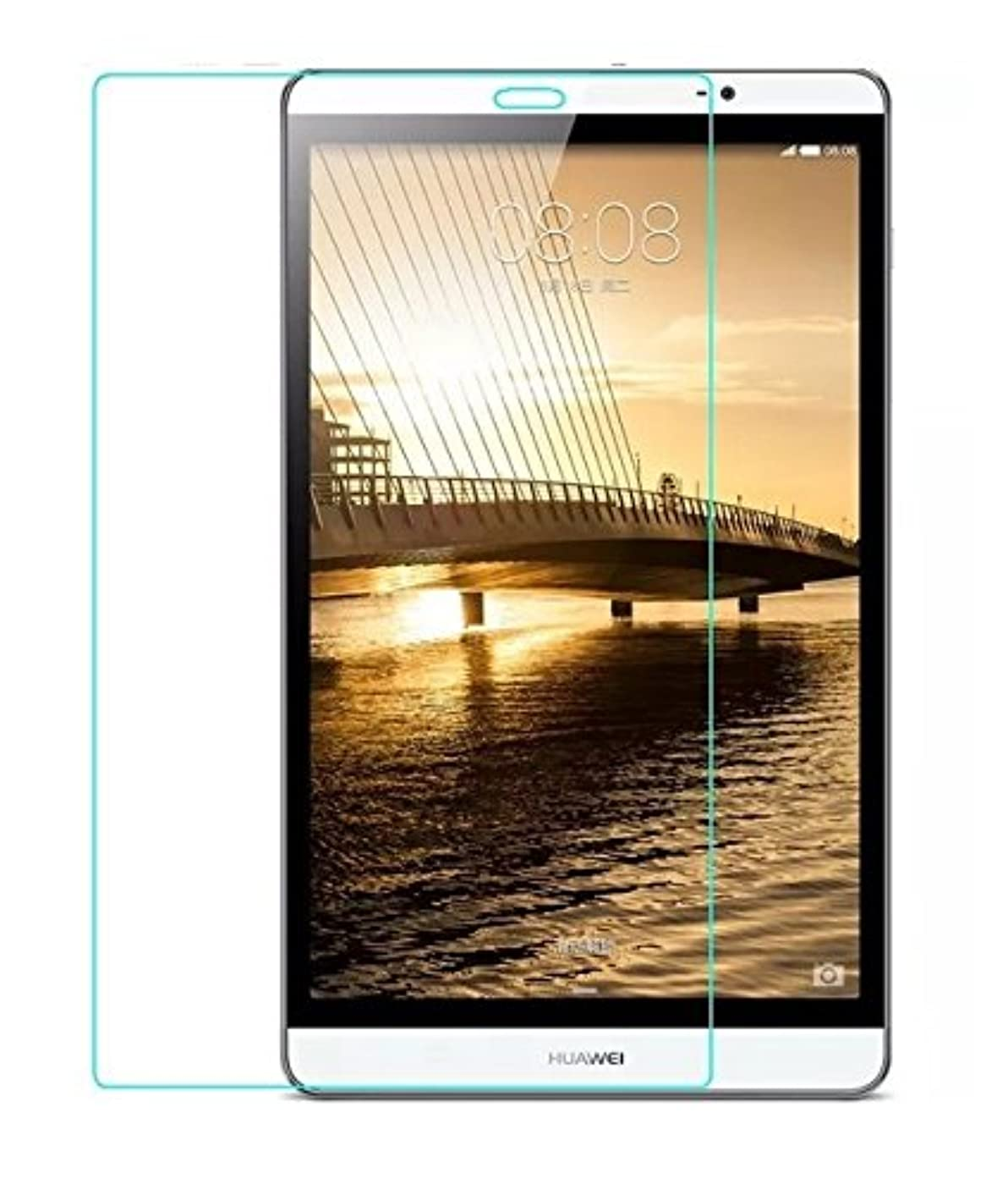 地下室男やもめ敬意を表して【千客屋】Huawei dtab Compact d-02h docomo / MediaPad M2 8.0専用 指紋防止液晶保護フィルム 「528-0017-01」 …