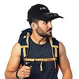 Mini Fan Usb Fan Loading on Men's Baseball Caps, Small fan on Golf Hat for Men and Women, Outdoor Sun Cap with Portable fan(black)