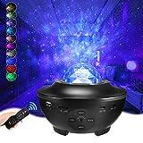 Delicacy Sternenprojektor, LED Nebel Sternenhimmel Projektor, Bluetooth Musik Star Galaxie...