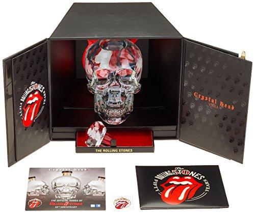CrystalHeadWodka RollingStones50thAnniversary Limitierte Geschenkbox (1 x 0.7 l) Titelbild