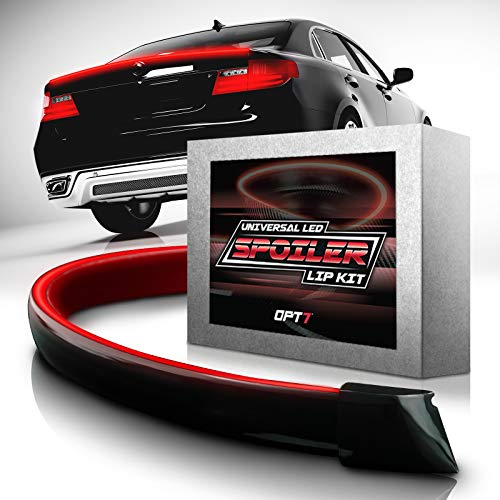 Qiilu 10 St/ücke Auto Dachflosse Spoiler Wing Kit Generator Universal Kohlefaser Stil