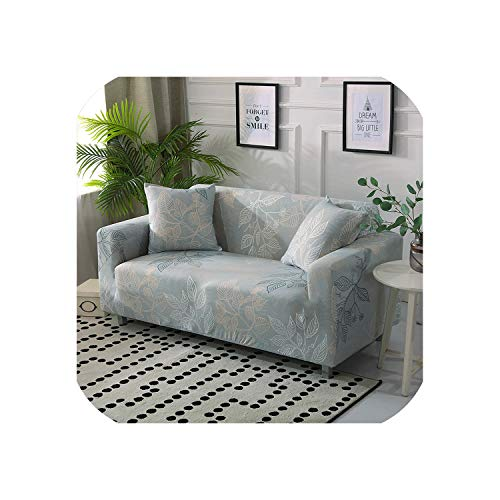 MOMO Stretch Printed Sofa Cover Big Elasticity Couch Covers Loveseat Sofa Furniture Towel All Wrap Single Slipcovers Double Seat,K321,Ab 185-230Cm