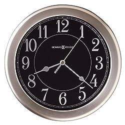 Howard Miller Libra Wall Clock 625-530 - Modern & Round with Quartz Movement