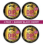 TeaZa Herbal Energy Pouch Bangin' Black Cherry Bomb - Have More Energy - 4 Pack