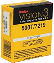 Kodak VISION3 500T/7219 Color Negative Motion Picture Film, 16mm SP457 Winding B, T Core 1R-2994 Perforation, 400' Roll
