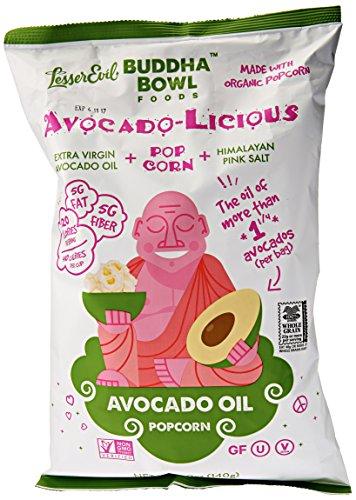 Lesser Evil Popcorn Avocado-Licious, 5 oz