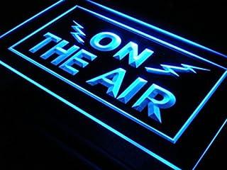 LED看板 ネオンプレート サイン 電飾・店舗看板・標識・サイン カフェ バー ADV PRO i066-b ON THE AIR Radio Recording Studio Light Signs