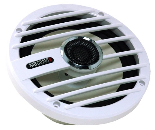 MB Quart NKF116 Nautic 2-Way Coaxial Speaker System, 6.5-Inch