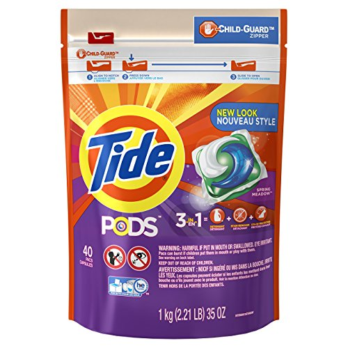 Tide PODS HE Laundry Detergent - Spring Meadow - 40 ct by Tide