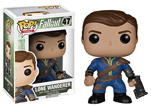 Funko 5848 POP Vinyl Fallout Lone Wanderer Male Action Figure Playsets