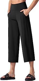 Bootleg Yoga Capris Pants for Women Tummy Control High...