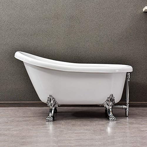 WOODBRIDGE CLAWFOOT TUB, 54