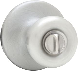 Kwikset 300T 26D CP Tylo Bed and Bath Knob, Satin Chrome