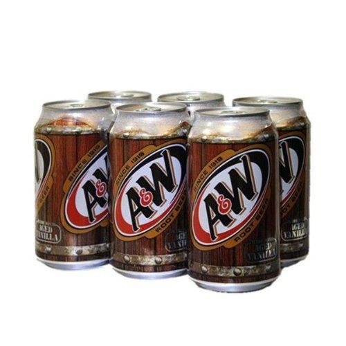 A & W birra di radice 355ml [6 lattine]