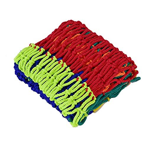 AMDHZ Red De Seguridad, Red Tejida de Color for Perros y Gatos, Red de protección for escaleras de balcón protección for Escalada anticaídas Decorativa (Color : 8mm Rope, Size : 3x5m(10x16ft))